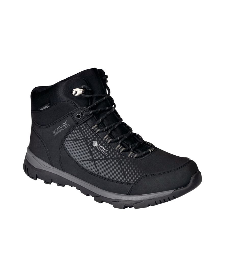 Image for Regatta Mens Highton Stretch Mid Walking Boots