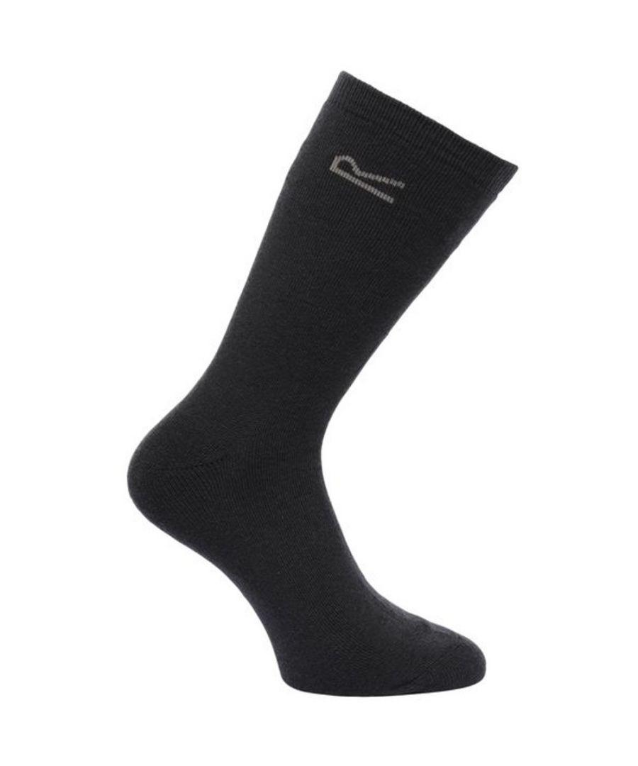 Image for Regatta Mens 5pk Warm Thermal Durable Everyday Walking Socks