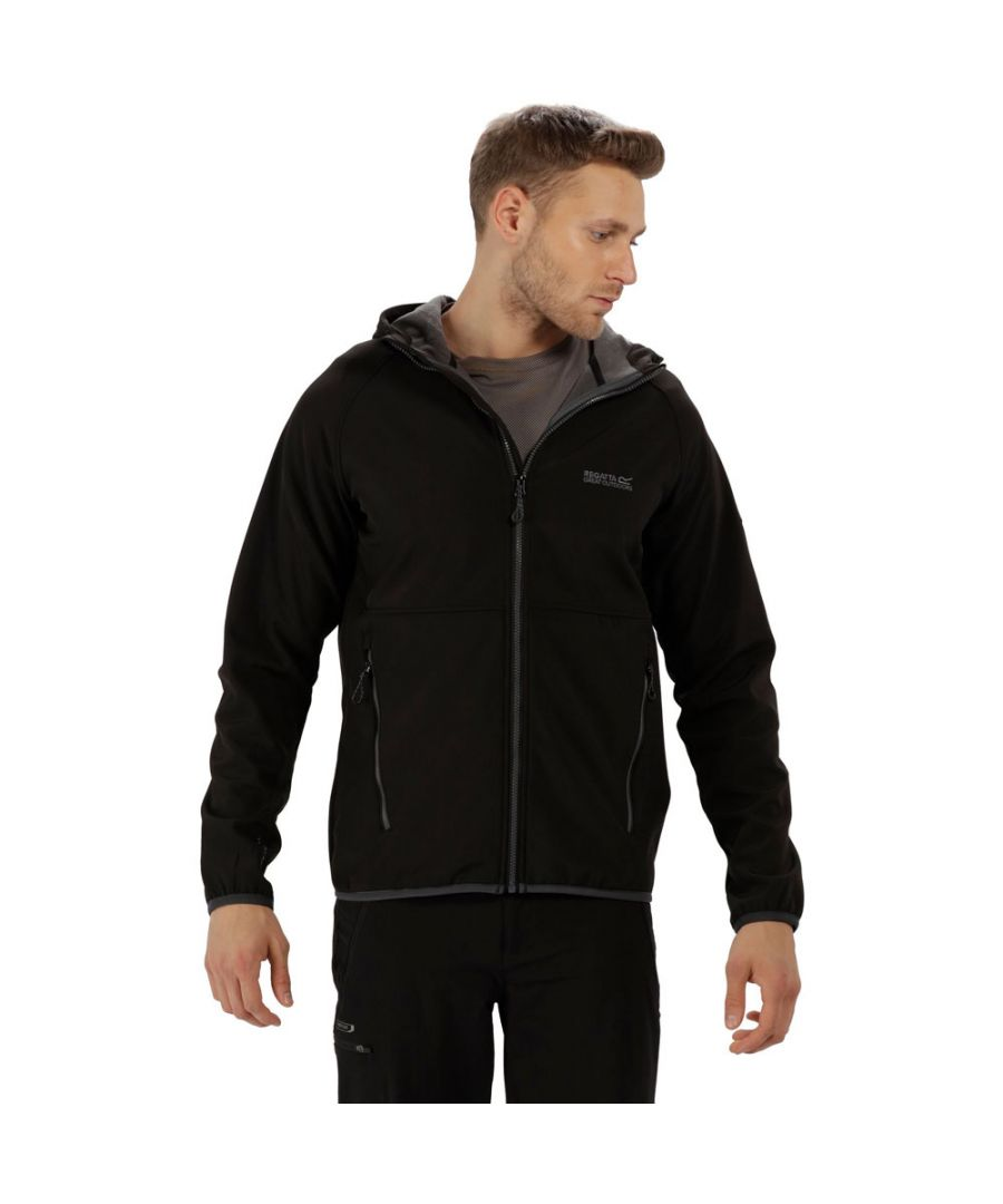 Image for Regatta Mens Arec II Warm Backed Lightweight Softshell Jacket Coat