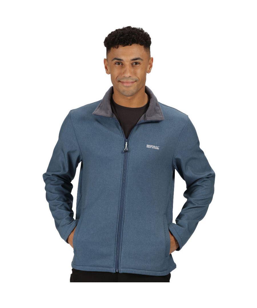Image for Regatta Mens Cera V Durable Wind Resistant Softshell Jacket