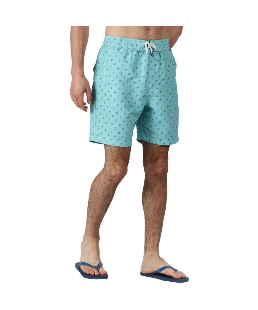 Image for Regatta Mens Hadden II Quick Dry Swim Beach Board Shorts