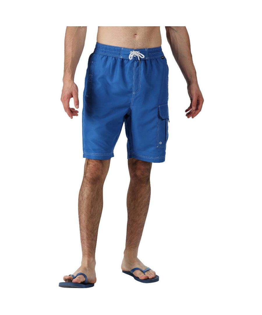 Image for Regatta Mens Hotham III Quick Dry Swim Beach Board Shorts