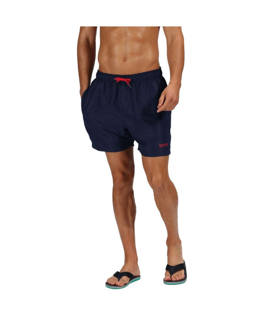 Image for Regatta Mens Mawson II Quick Dry Adjustable Swim Shorts