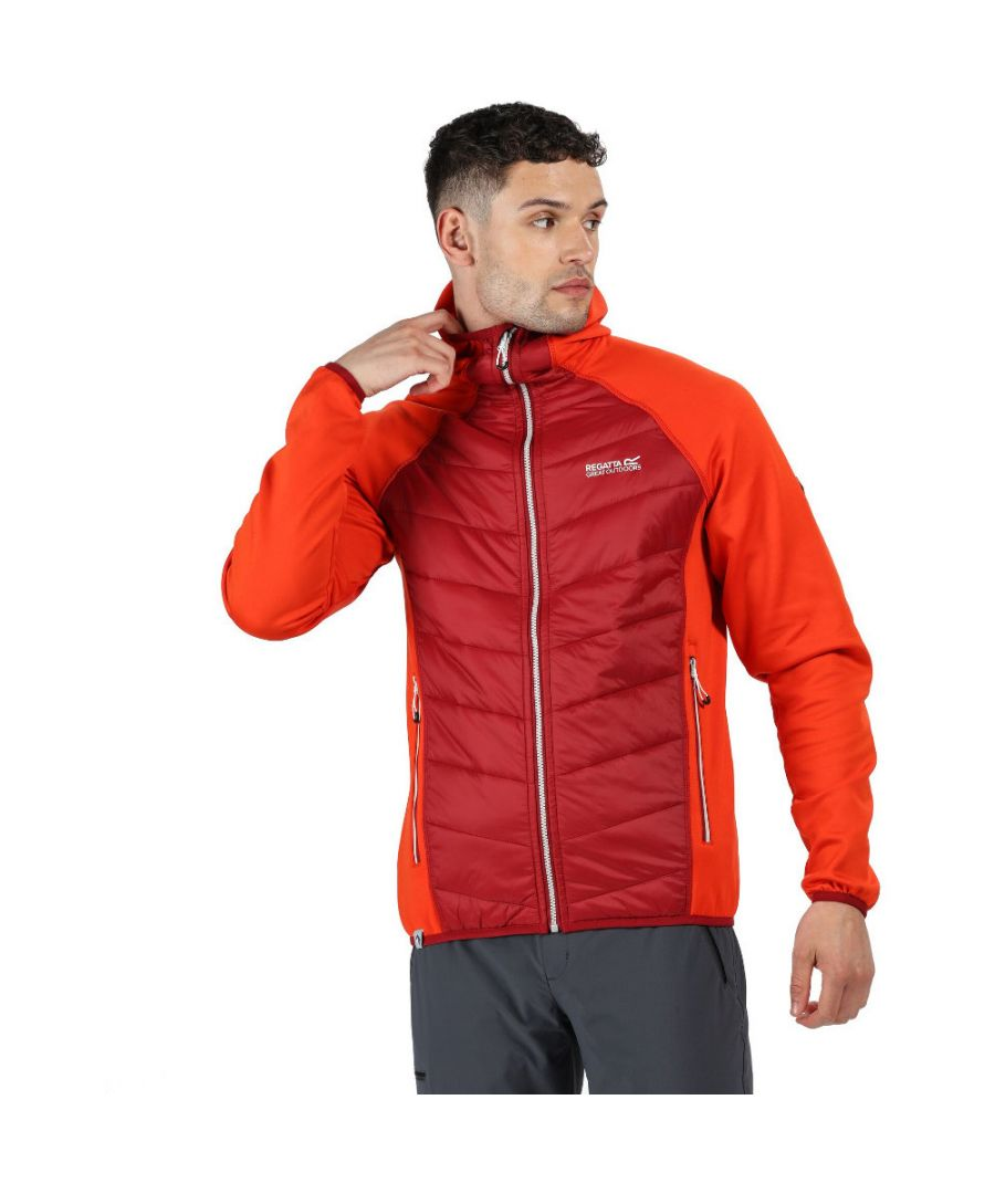 Image for Regatta Mens Andreson IV Hybrid Water Repellent Jacket