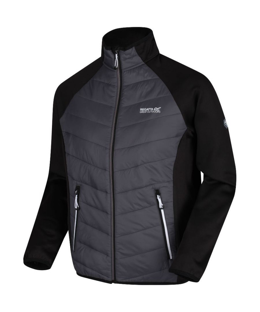Image for Regatta Mens Bestla Hybrid Water Repellent Jacket