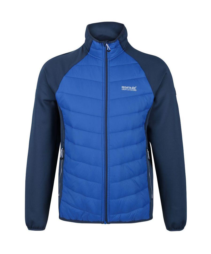 Image for Regatta Mens Bestla Hybrid Water Repellent Jacket