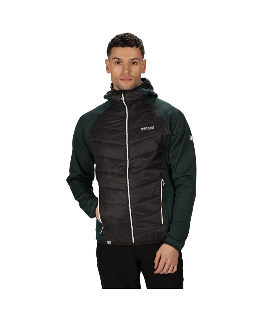 Image for Regatta Mens Andreson V Hybrid Insulated Quilted Jacket