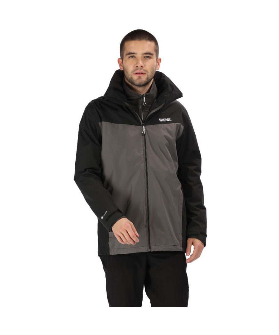 Image for Regatta Mens Telmar III Waterproof Breathable 3in1 Jacket