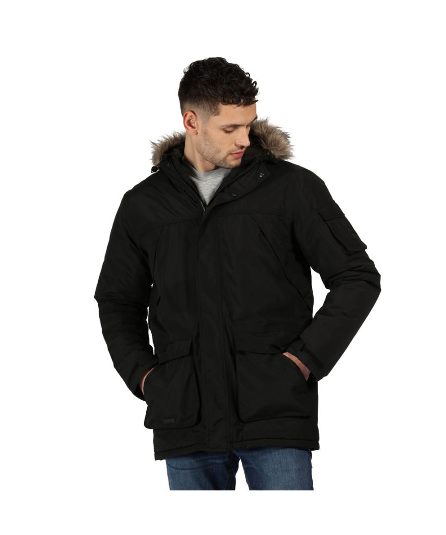 Image for Regatta Mens Salinger II Waterproof Insulated Parka Jacket