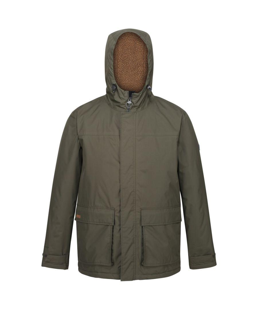 Image for Regatta Mens Sterlings II Waterproof Insulated Parka Jacket
