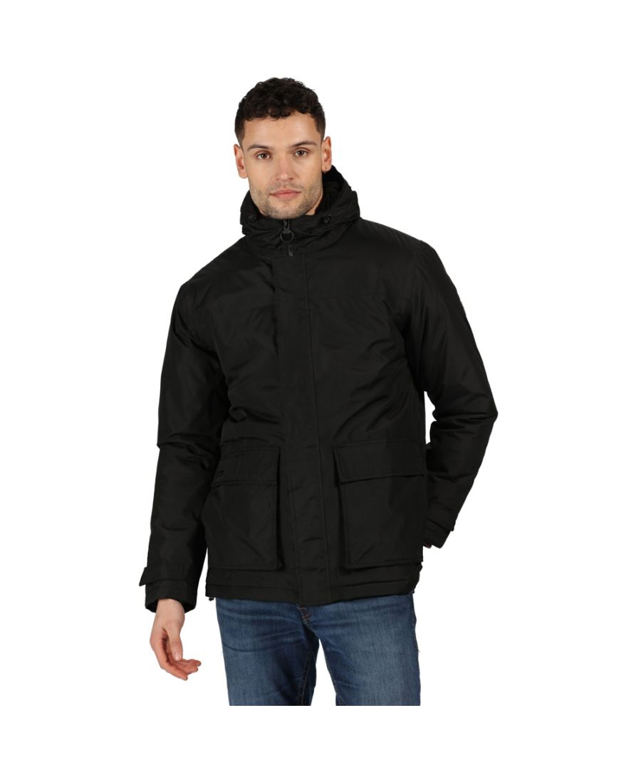 Image for Regatta Mens Sterlings II Waterproof Insulated Parka Jacket