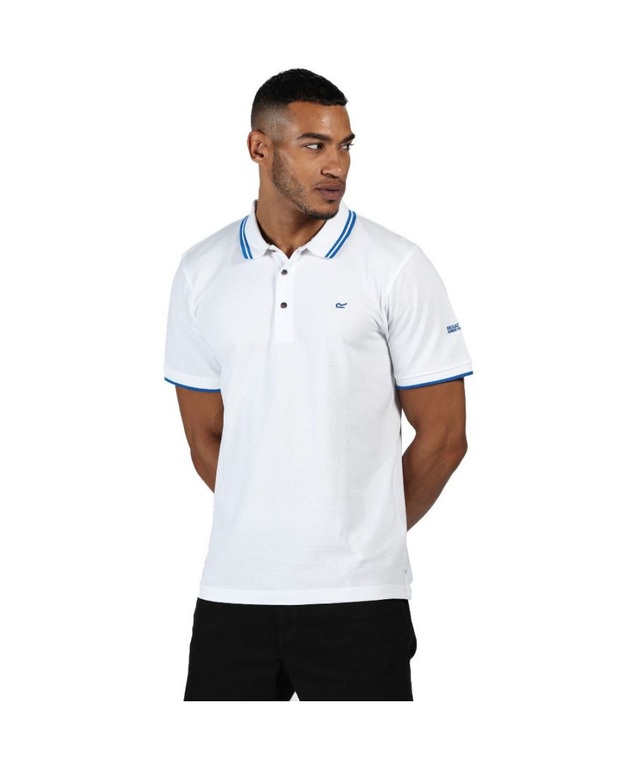 Image for Regatta Mens Talcott II Coolweave Breathable Polo Shirt