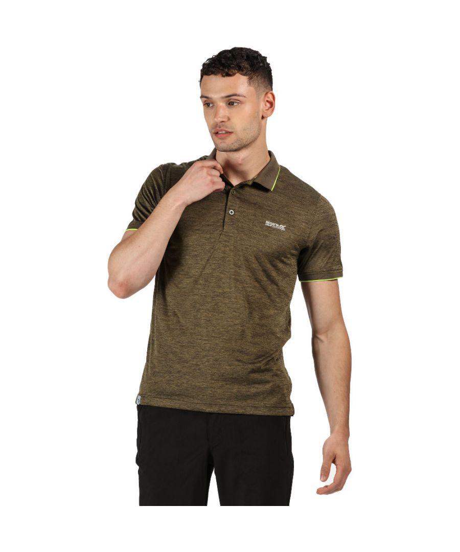 Image for Regatta Mens Remex II Short Sleeve Quick Drying Polo Shirt