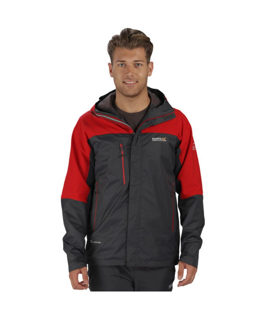 Image for Regatta Mens Cross Penine III Waterproof Breathable Rain Jacket