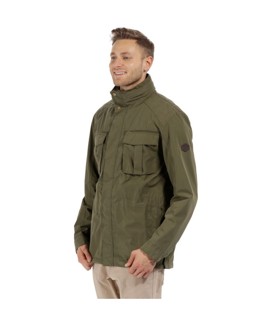 Image for Regatta Mens Eldric Waterproof Lightweight Isotex Durable Jacket Coat