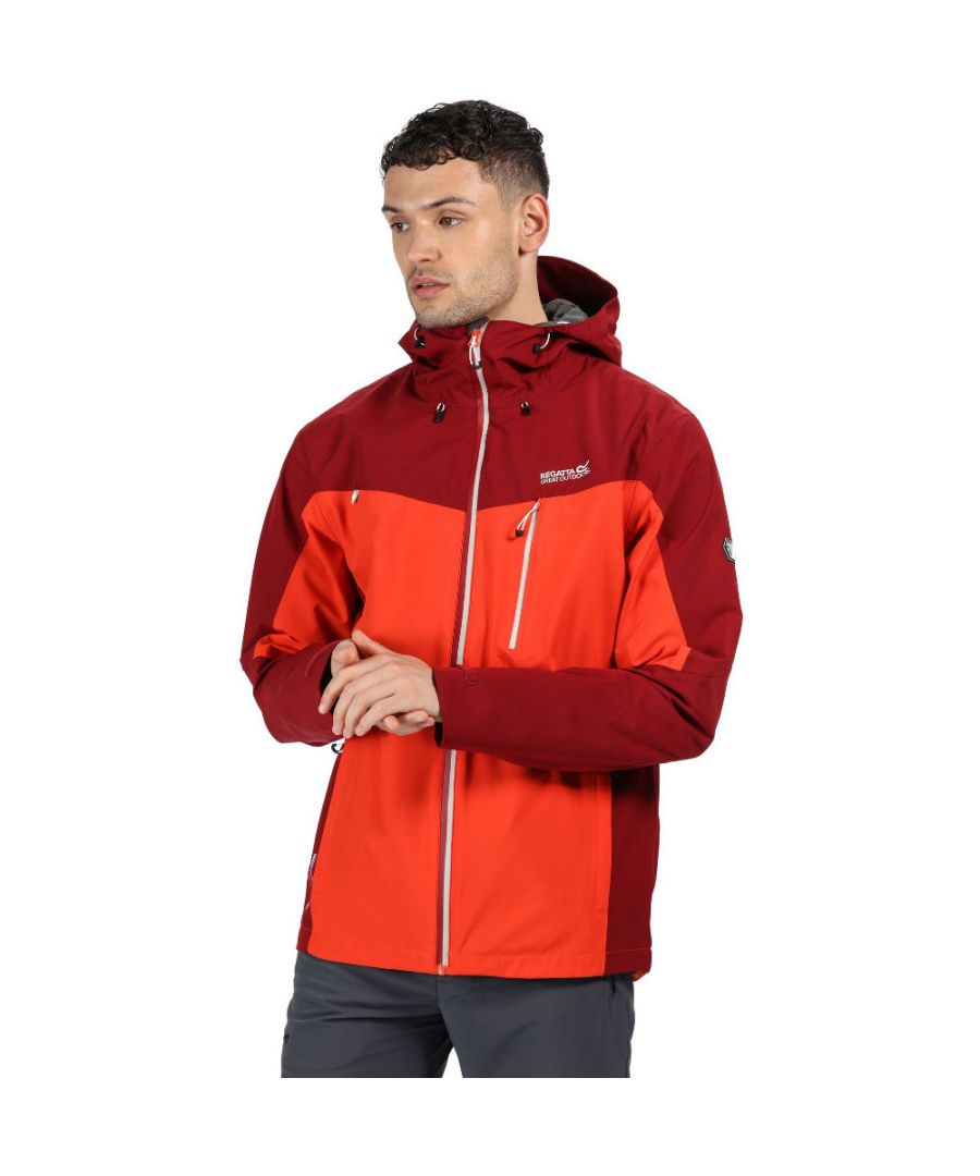 Image for Regatta Mens Birchdale Durable Waterproof Isotex 10000 Jacket Coat