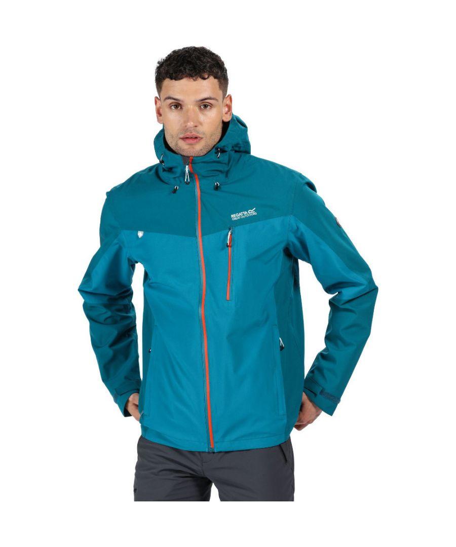 Image for Regatta Mens Birchdale Durable Waterproof Isotex 10000 Jacket Coat