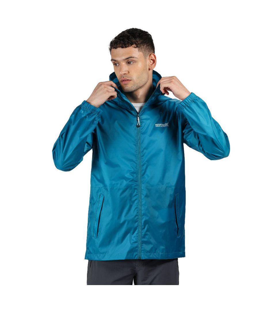 Image for Regatta Mens Pack It III Waterproof Breathable Packable Jacket Coat