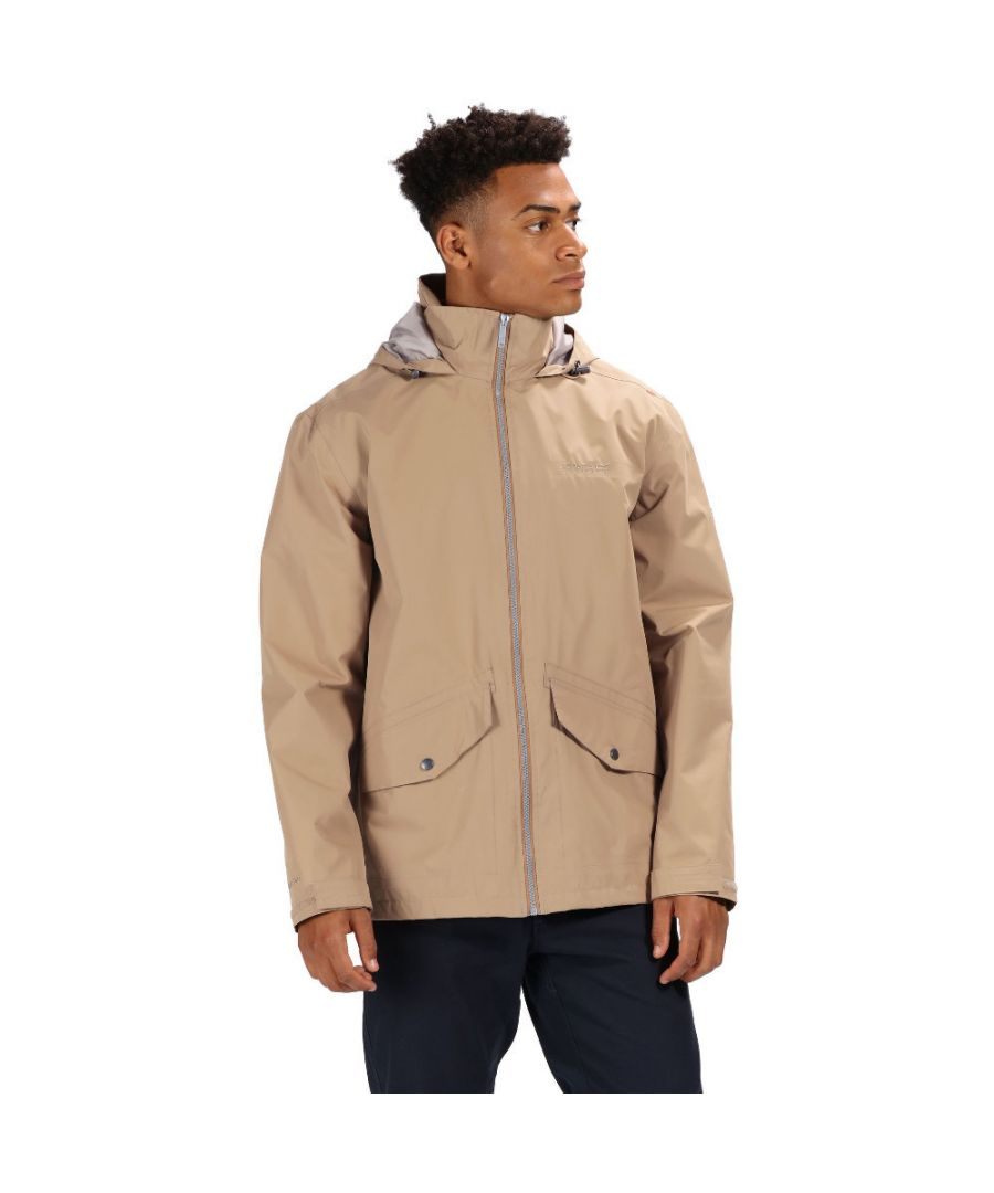 Image for Regatta Mens Hartigan Waterproof Hydrafort Durable Jacket