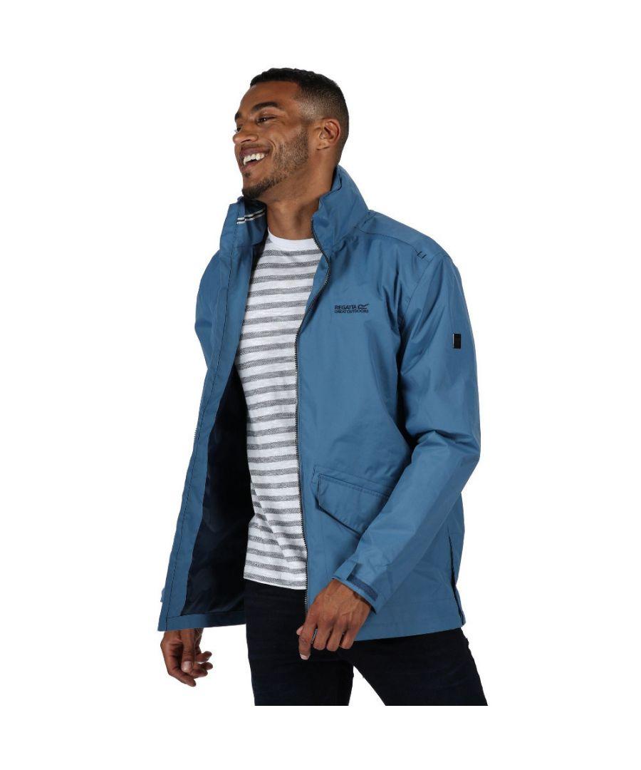 Image for Regatta Mens Hartigan Waterproof Hydrafort Durable Jacket