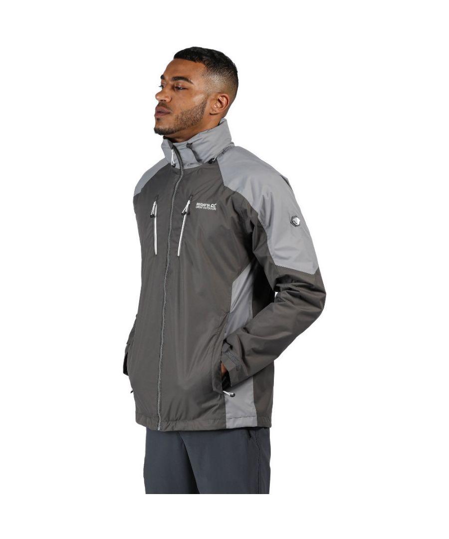 Image for Regatta Mens Calderdale III Waterproof Breathable Jacket