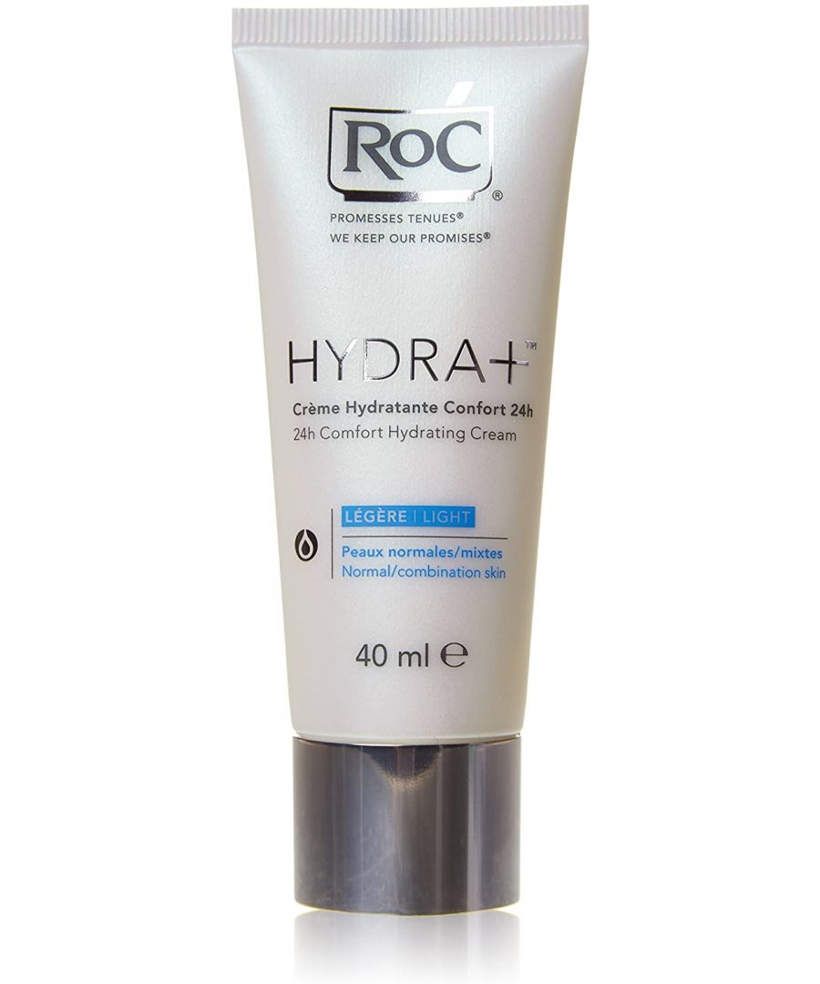 Image for RoC Hydra+ 24Hr Comfort Hydrating Cream - Normal Combination Skin 40ml