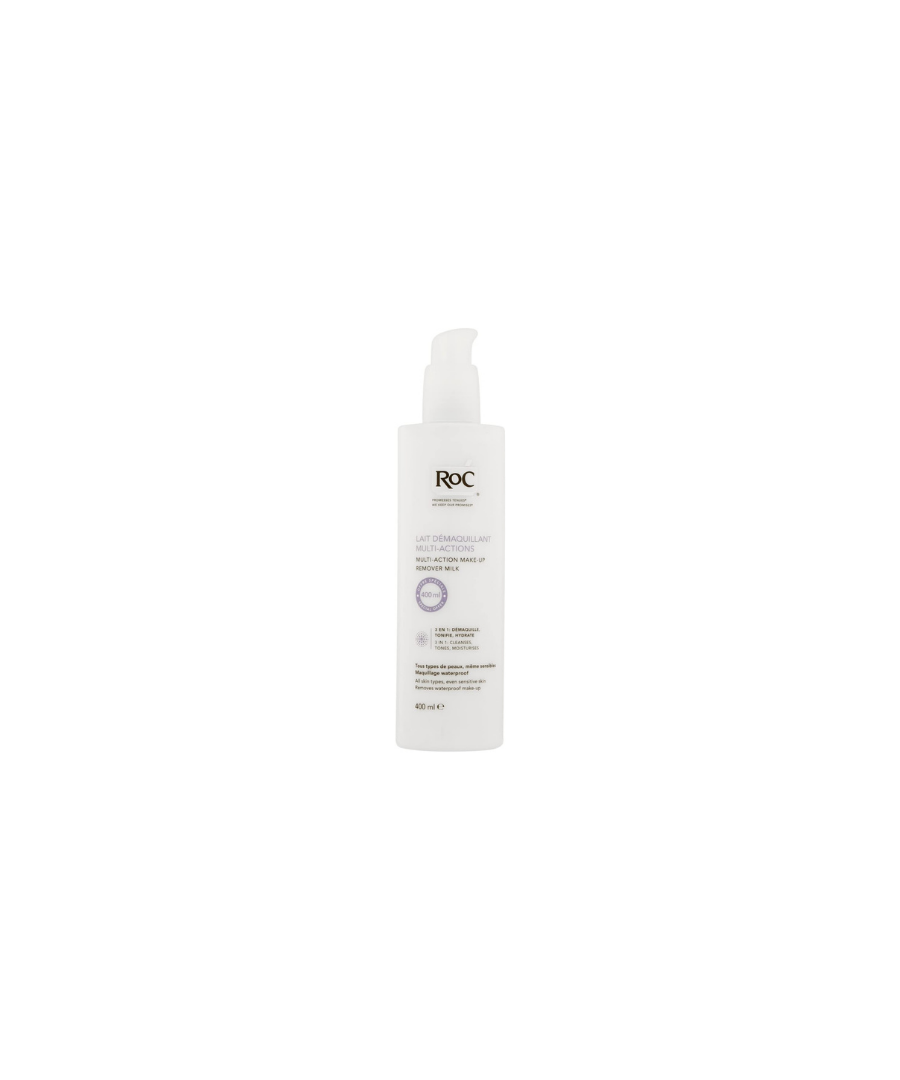 Image for RoC Multi-Action Makeup Remover Milk 400ml