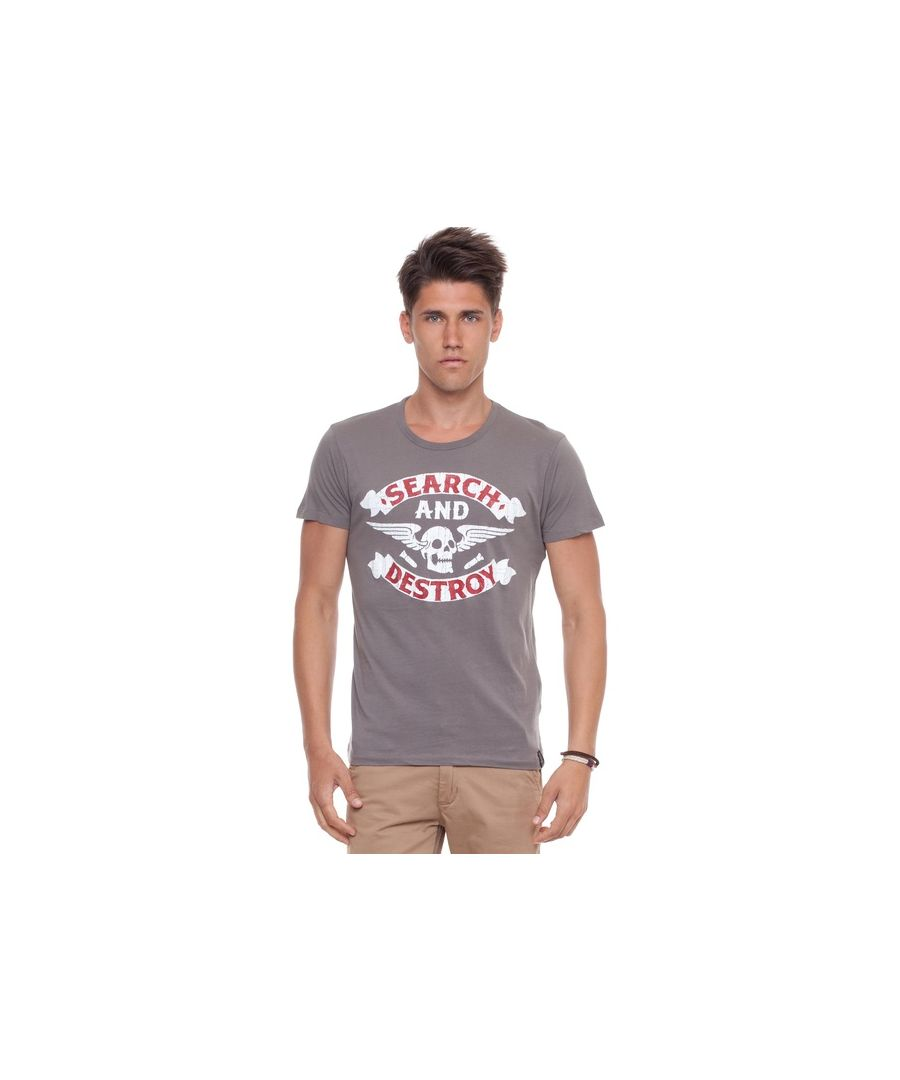 Image for Jack and Jones Rock-n-Rollers Grey T-Shirt