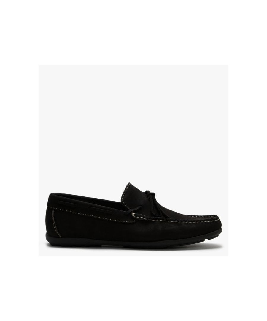 Image for Roman Rock Suede Tie Front Causal Loafers