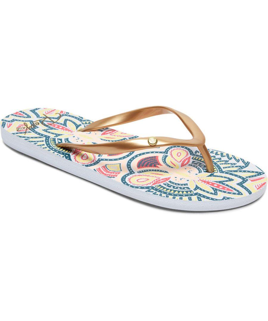 Image for Roxy Womens/Ladies Portofino II Toe Post Casual Flip Flop Sandals