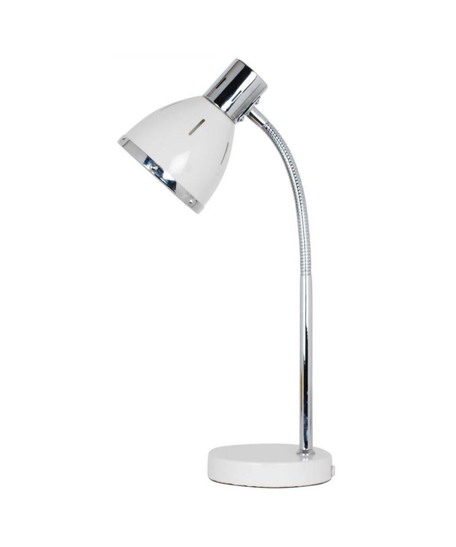 Image for Rupert 42cm Desk Lamp White
