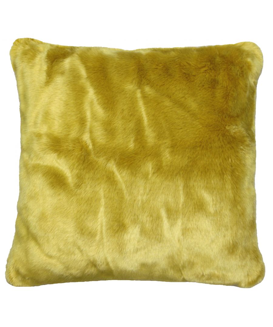 Image for Russ 45X45 Poly Cushion Ochre