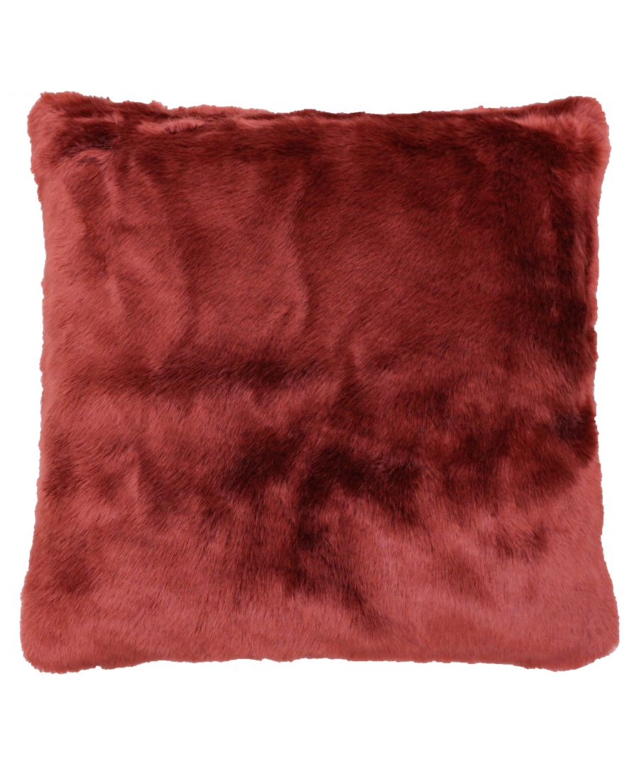 Image for Russ 45X45 Poly Cushion Rust