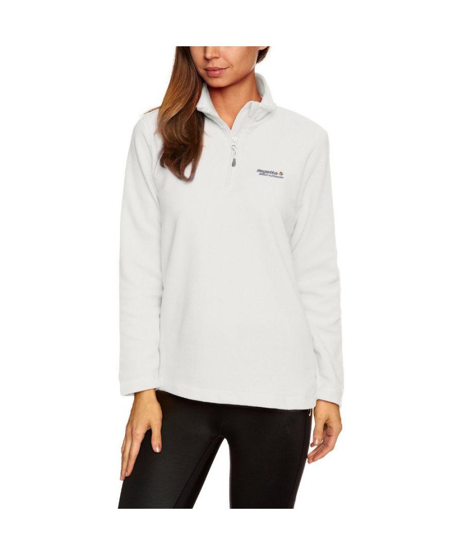 Image for Regatta Womens/Ladies Sweethart Half Zip Anti Pill Midlayer Fleece Top