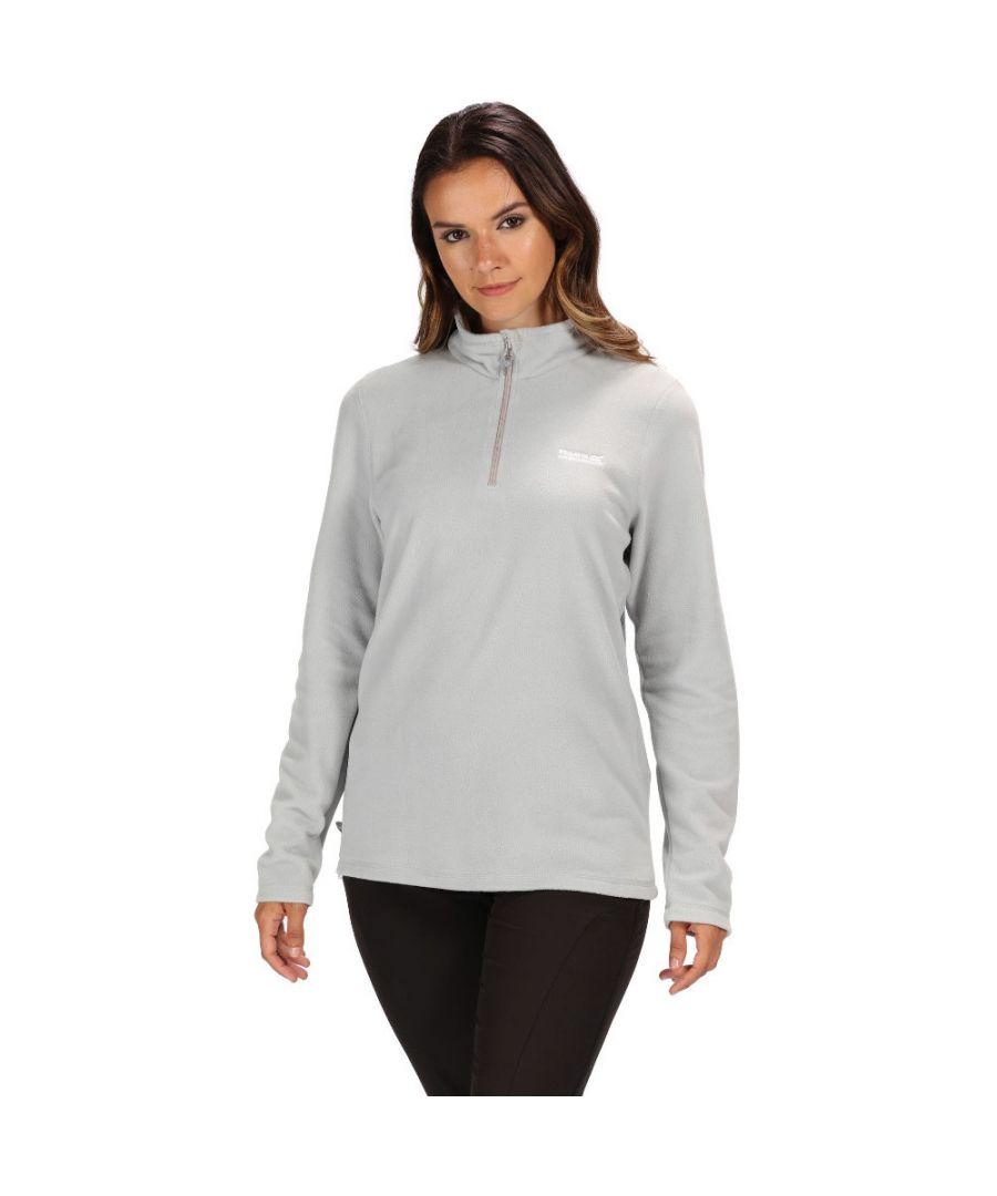 Image for Regatta Ladies Sweethart Soft Half Zip Outdoor Walking Fleece Jacket