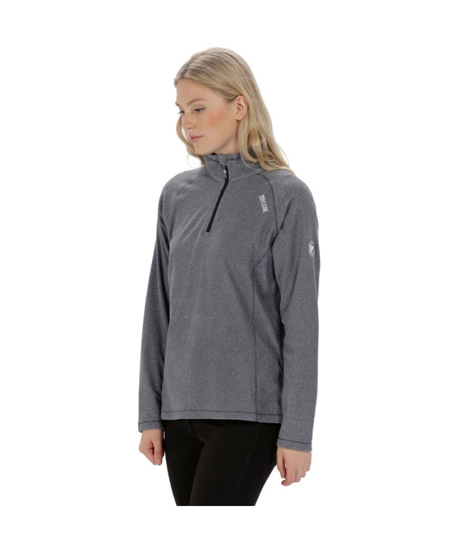Image for Regatta Womens/Ladies Montes Half Zip Lightweight Microfleece Top
