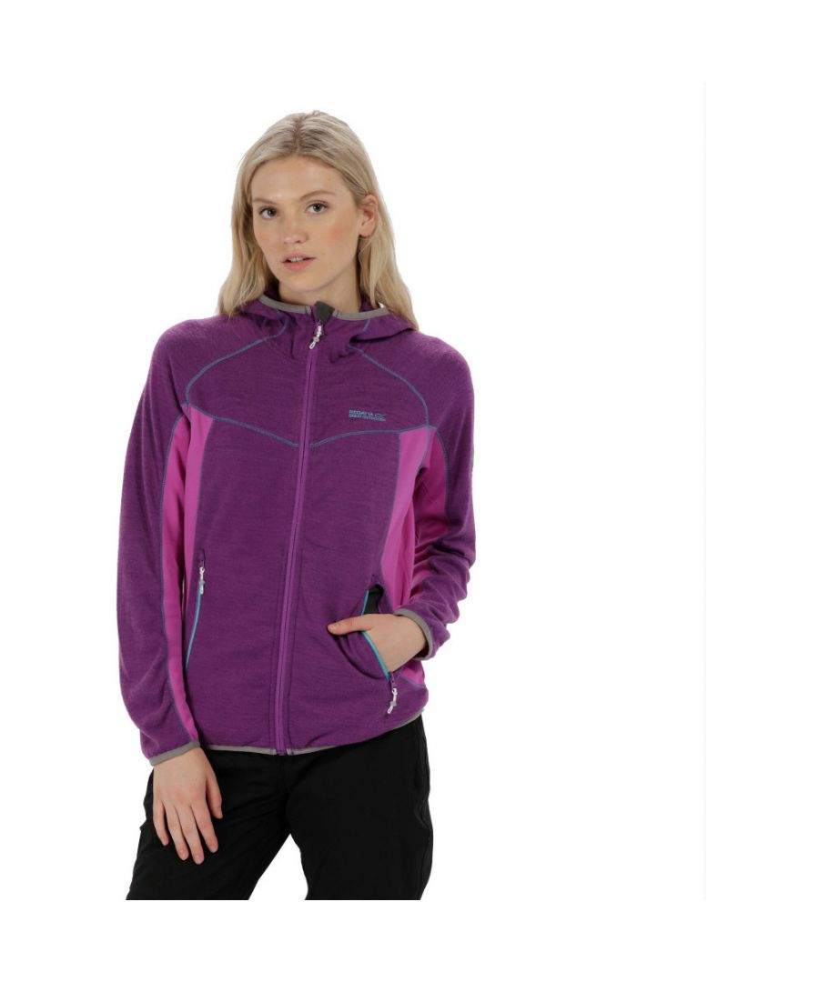 Image for Regatta Womens/Ladies Willowbrook Full Zip Hooded Fleece Casual Jacket