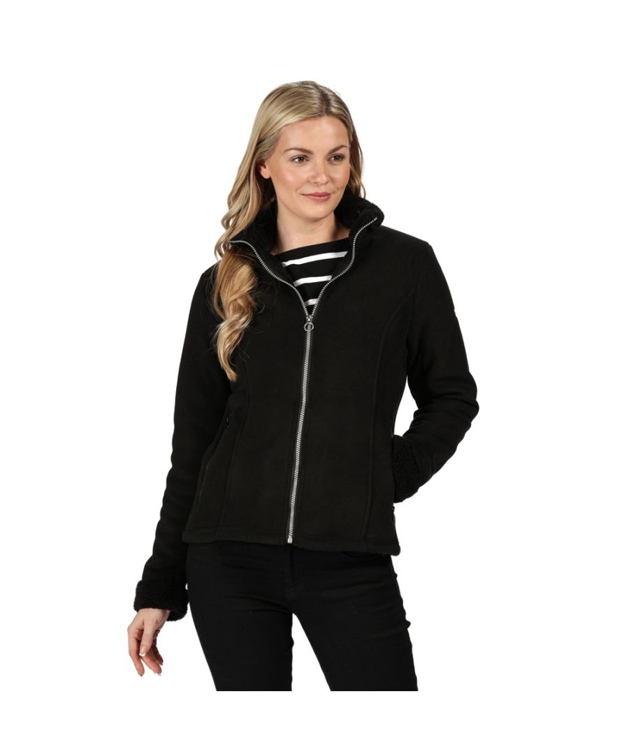 Image for Regatta Womens Brandall Full Zip Heavyweight Fleece Jacket