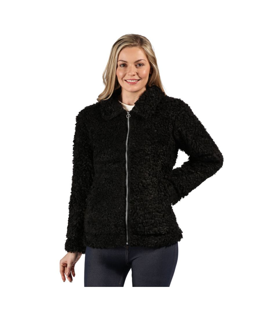 Image for Regatta Womens Akasha Full Zip Taffeta Lined Fleece Jacket