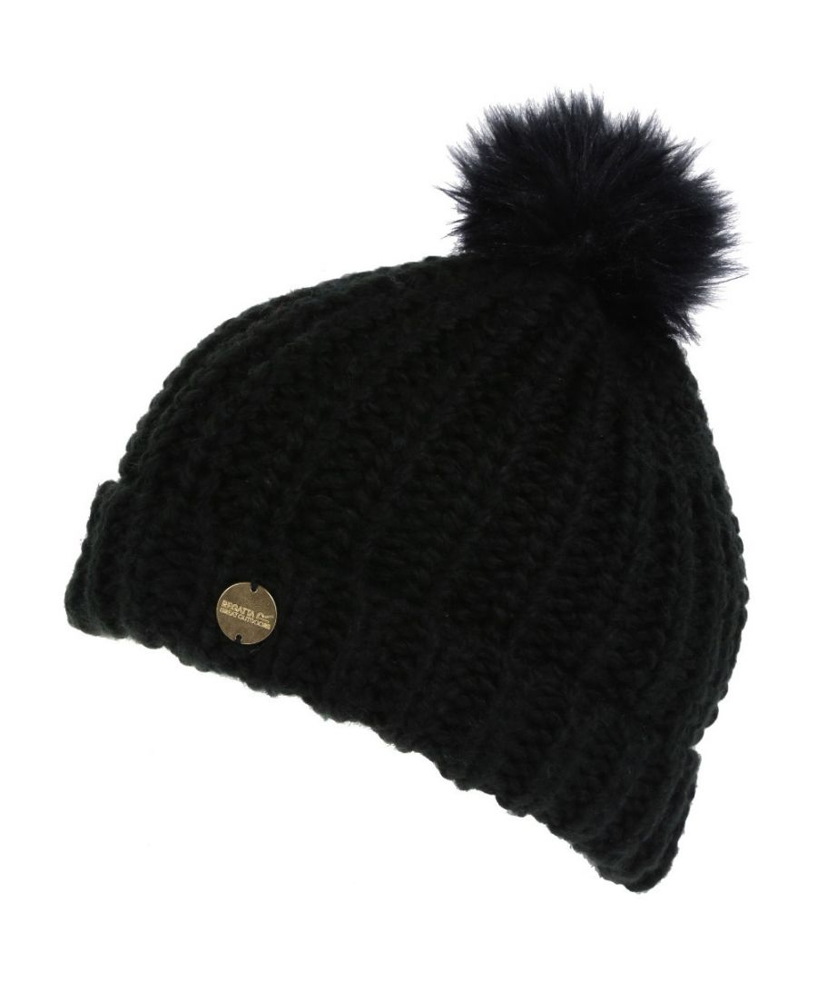 Image for Regatta Womens Lovella II Chunky Acrylic Knit Winter Hat