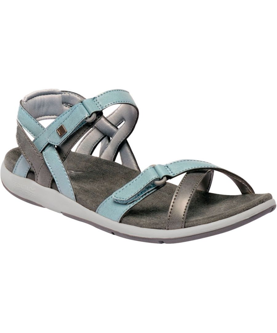 Image for Regatta Womens/Ladies Lady Santa Cruz Strap Robust Walking Sandals