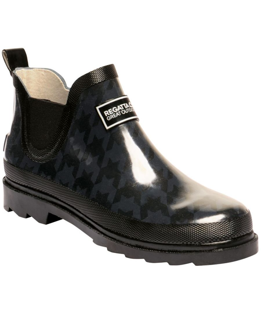 Image for Regatta Womens/Ladies Lady Harper Welly Ankle Height Wellington Boots