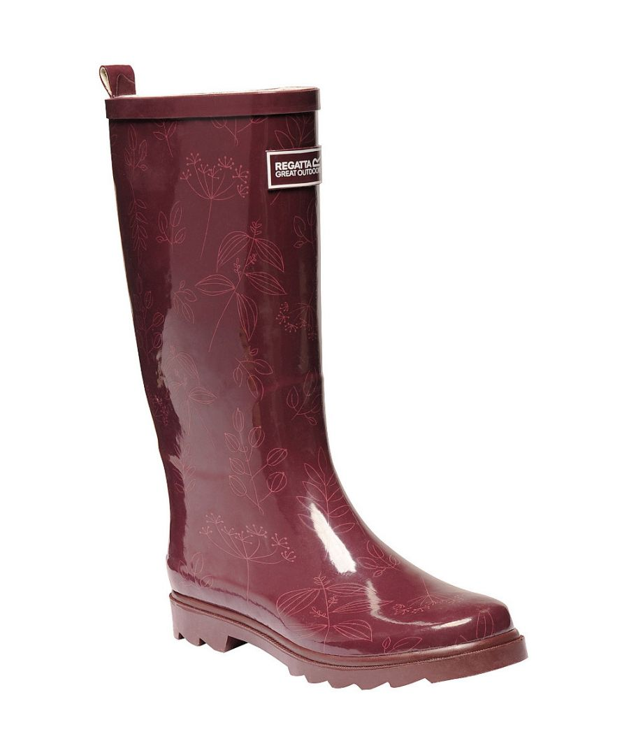 Image for Regatta Womens/Ladies Lady Fairweather Rubber Wellington Boots