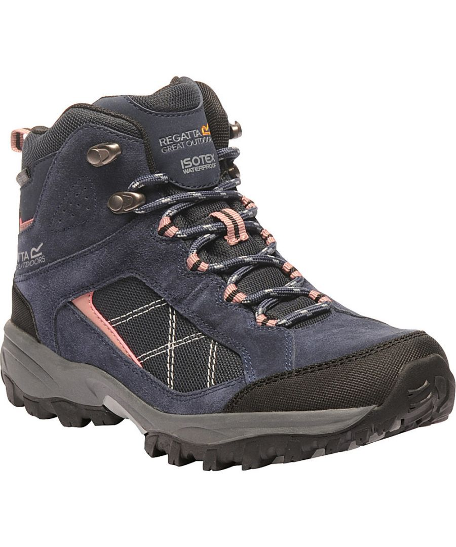 Image for Regatta Womens/Ladies Lady Clydebank Mid Waterproof Walking Boots
