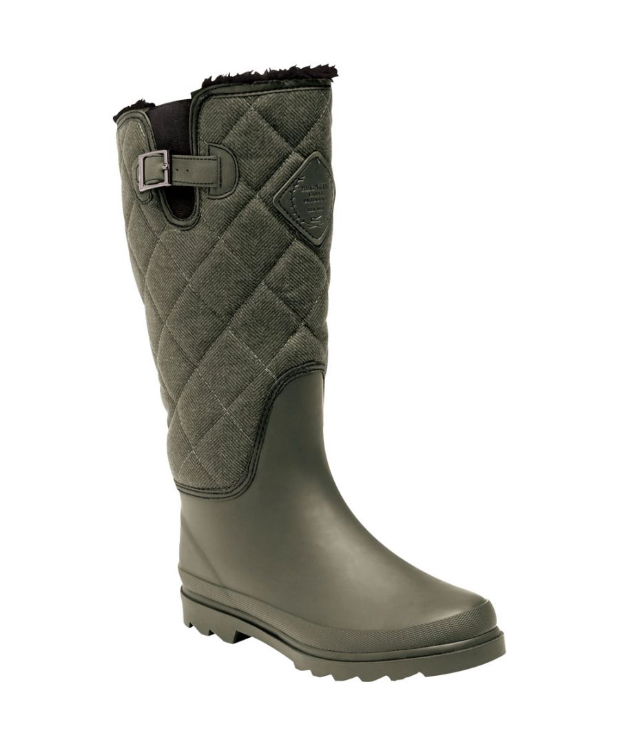 Image for Regatta Womens/Ladies Lady Fleetwood Durable Rubber Wellington Boots