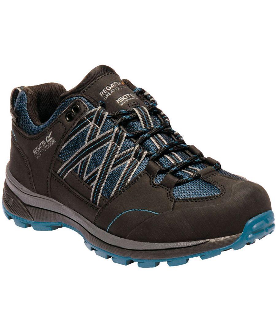 Image for Regatta Womens/Ladies Samaris Low Waterproof Seam Sealed Walking Shoes