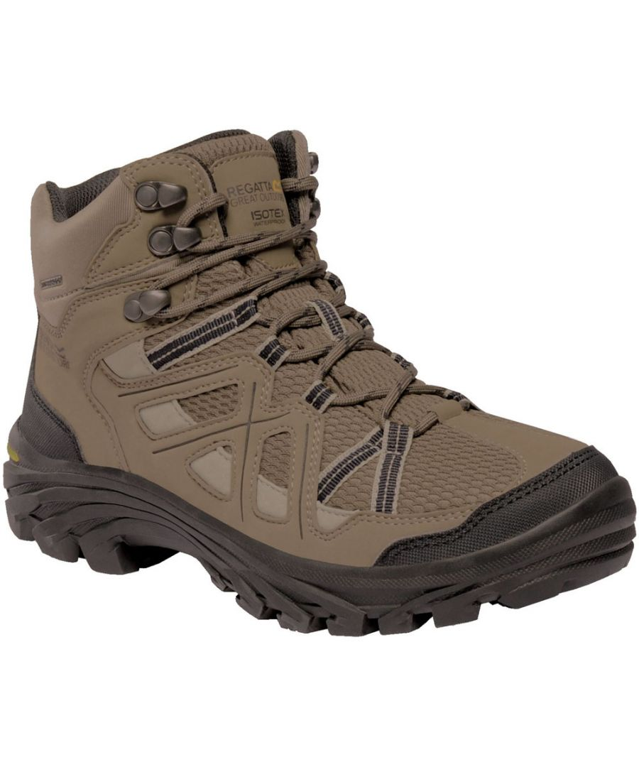 Image for Regatta Womens/Ladies Burrell Waterproof Breathable Walking Boots