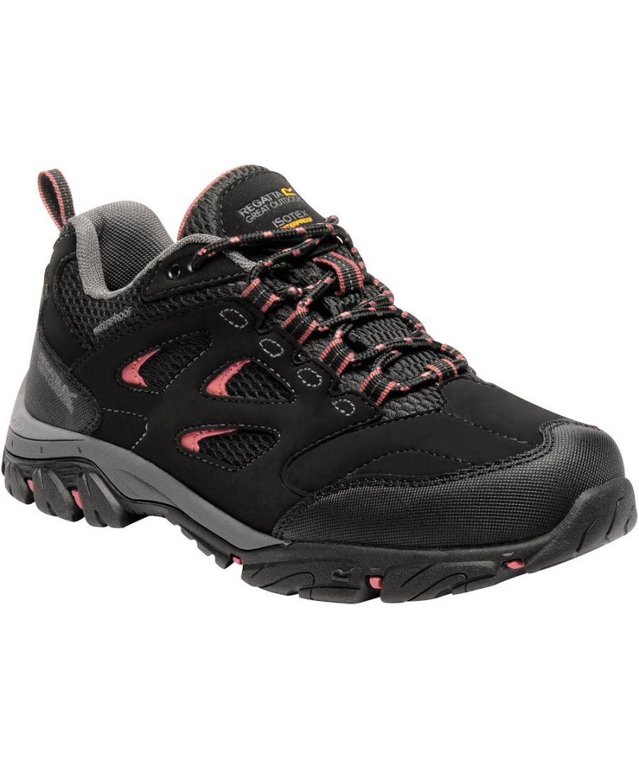 Image for Regatta Womens/Ladies Holcombe IEP Low Waterproof Fabric Walking Shoes