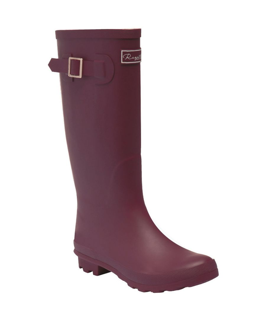Image for Regatta Womens/Ladies Ly Fairweather II Durable Wellington Boots