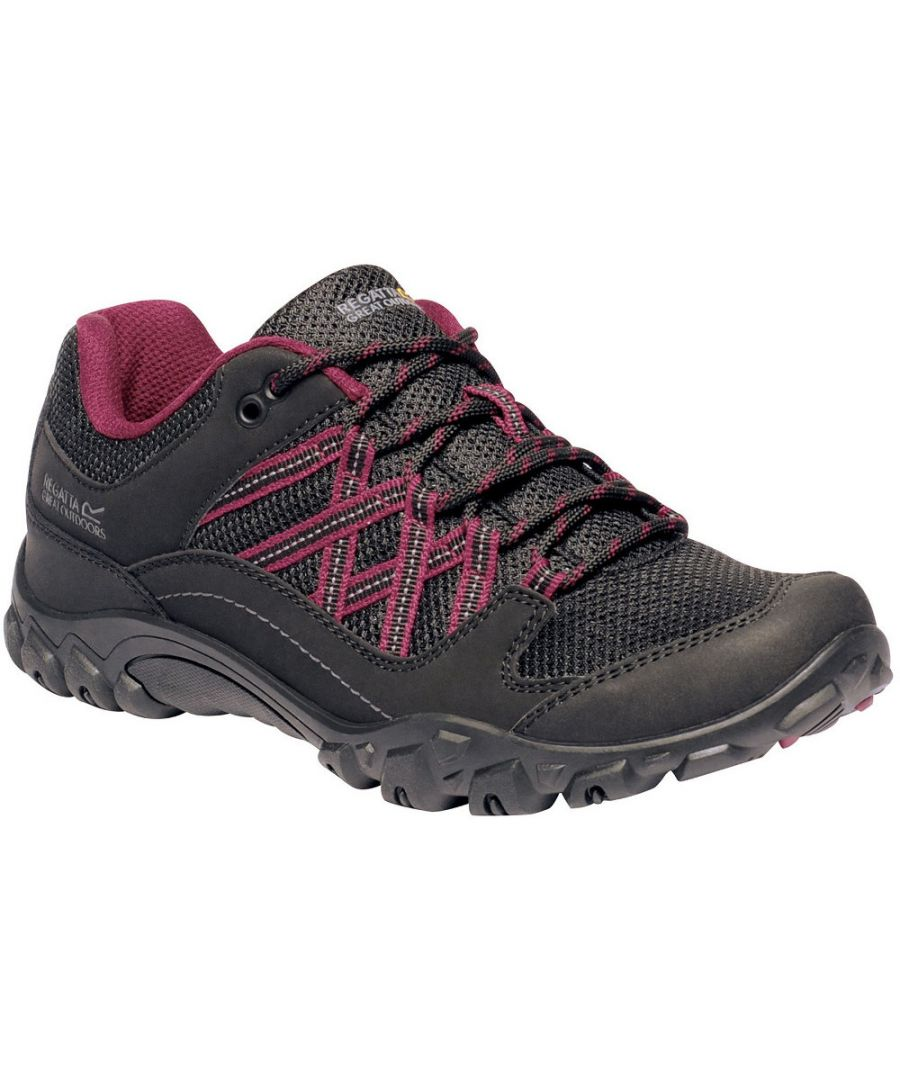 Image for Regatta Womens Edgepoint III Waterproof Light Walking Shoes